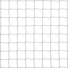 Siatki na woliery ( siatka do budowy wolier ) zabezpieczająca - 4 x 4 / 2